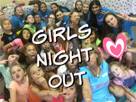 WESTCHASE (K-5th): Girls Night Out- Oct. 25th, 2019