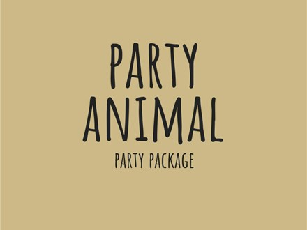 Party Animal - Party Package