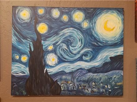 2/9 Starry Night (deposit)