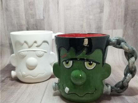 Franken-Mug - Ready to Paint