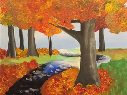 "Canvas Night ""Fall Fantasy"" Saturday, October 15th 7-10pm"