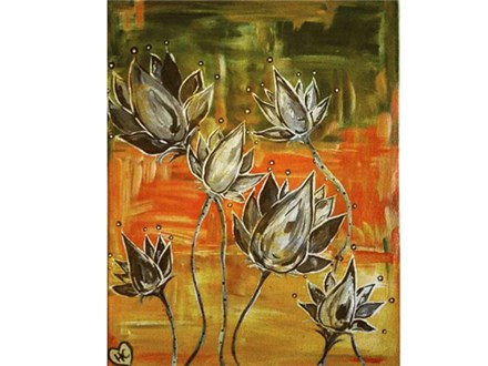 Fall Lotuses