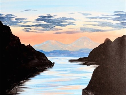 """Daytime Canvas """"Trophy Point"""" Sunday, August 28th 11am-1pm"""