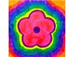 Summer Kids' Canvas Class! Tie Die Flower! 7/11/18