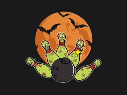 Halloween Bowl - Cosmic Bowling Party - Oct. 20th 3-5 pm