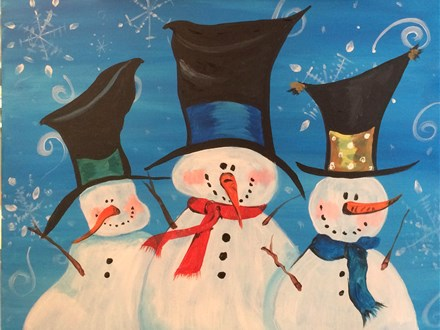 Creative Canvas Class - Let It Snow! Nov 27