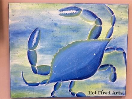 Blue Crab Paint Party!