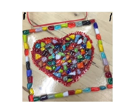 Kidz Nite Out/ Valentine's Glass Fusing