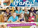 Color Me Mine Party - To Go Party Package