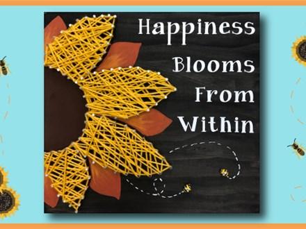 Sunflower String Art - April 27th