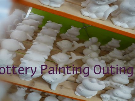 Fun Outing: Paint-Your-Own-Pottery for Scouts