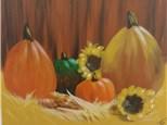 Adult Canvas - Harvest Pumpkins - Morning Session - 11.24.17