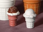 """"""" Hand Dipped Ice Cream Cone"""" To-Go Kit- at Color Me Mine - Aspen"""