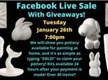 Facebook Live Sale - January 26