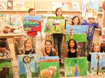Kids Canvas Painting Party