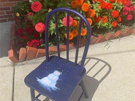 Chair Paint Night 11/2/19
