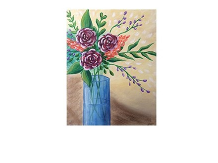 Rose Blossoms - Canvas - Paint and Sip