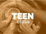 Teen Saturday 3-5pm, (OCT 27th - DEC 22nd) 2018, TEEN/TWEEN WHEEL THROWING CLASS