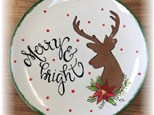 Merry & Bright Afternoon Munch and Paint Pottery