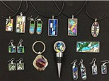 First Friday Mosaic Jewelry Making Class