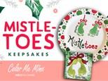 Mistletoes Footprint Plate Workshop - December 7th