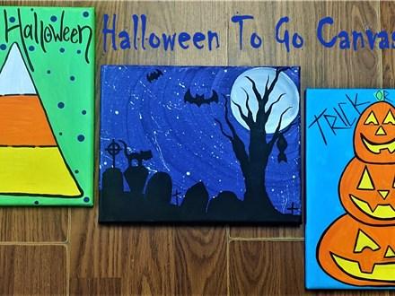 Halloween 8x10 Canvas Kits