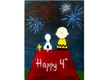 Charlie Brown (12x16 canvas)   Ages 8+