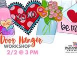 Valentine Door Hanger Workshop