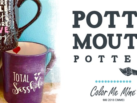 Posponed & MOVED TO 4/24/20 Adult Potty Mouth Pottery Night 3/27/20
