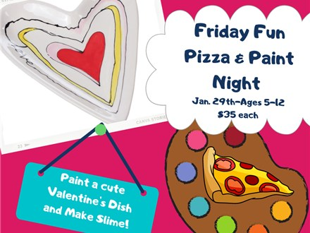 Friday Fun Pizza & Paint