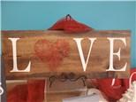 LOVE String Art Wooden Board