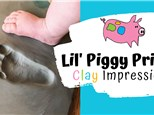 New! Lil' Piggy Prints - Clay Impressions & Ornaments