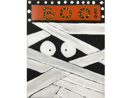 BOO Kids Canvas - 10/06