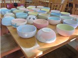 Holy Cross Paint a Bowl for Empty Bowls