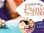 Paint Me a Story Party! Ages 5 & Under