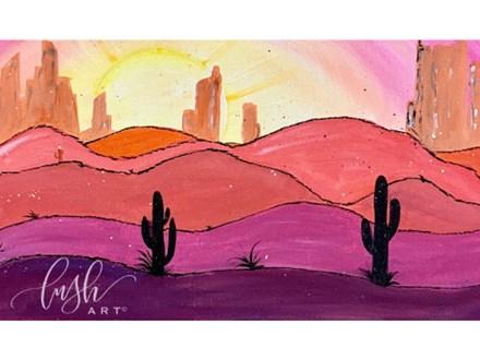 Desert Paint Class