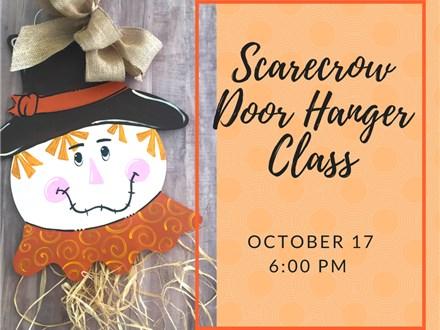 Scarecrow Door Hanger Class