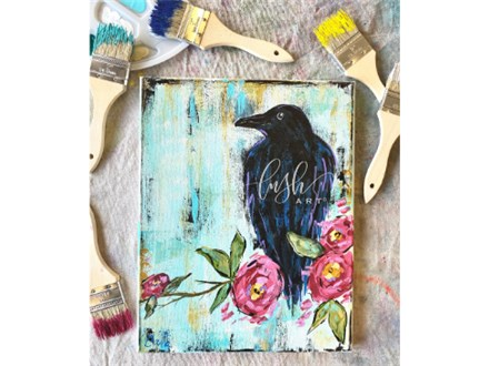 Raven Paint Class