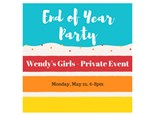 Wendy's Girls - Private Paint & Sip - May 22