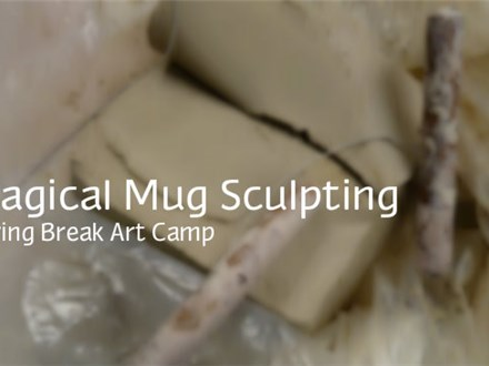 Magical Mud Sculpting