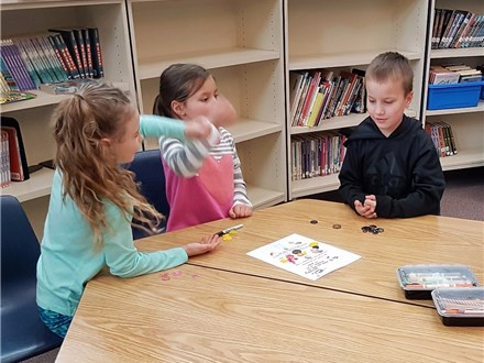 "Students learn more about probability by playing ""Rocks and Paper and Scissors, Oh, My!""©"