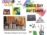 Single Day / Track Out Week Art Camp Registration 2020