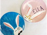 Kid's Pottery - Easter Plate - Morning Session - 04.10.19