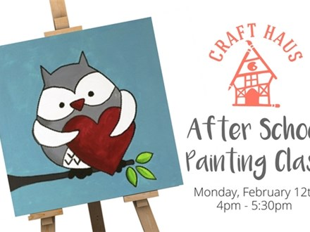 After School Painting Class: Hoo Loves You