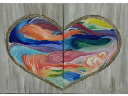Couples Valentine's Day - Paint & Sip - Feb 14