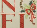 """Canvas & Cones """"Noel"""""""
