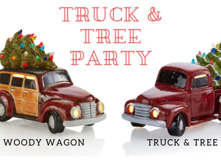Bel Air Vintage Light Up Truck & Tree Party - Nov 26th