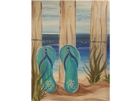 Mimosa Morning - Life's a Beach!