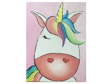 Mt. Washington Kid's Unicorn Canvas - July 17th