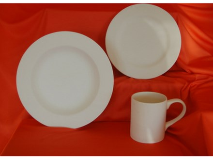 White City East Bowl, Plate and Mug Party